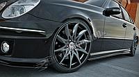 Диффузоры порогов Mercedes E W211 AMG