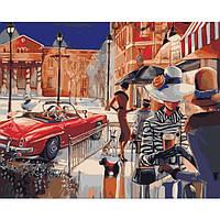 """Картина-раскраска по номерам """"Городской гламур"""" 40х50 см ТМ Идейка"""