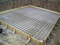 Бетонирование площадок и опорных стенок