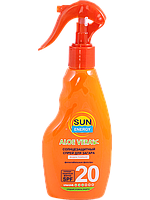 Sun Energy Солнцезащитный спрей для загара SPF20 200мл