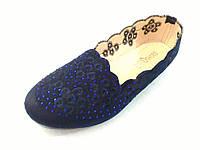 Красивые балетки женские синие лёгкие под замшу удобные с 36 по 41 размеры 34564432, фото 1