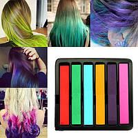"""Набор мелков для временного окрашивания волос """"Colorchalk"""""""