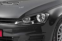 Накладки на передние фары Volkswagen Golf 7