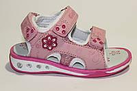 Детские сандали для девочек Giolan 682-1 Pink (24-29)
