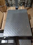 Весы торговые электронные  на 300кг бест рифленые  со складывающейся ногой, фото 3