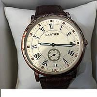 Часы наручные Cartier №1 , мужские часы, механические часы, наручные часы, кварцевые часы Картье, механические