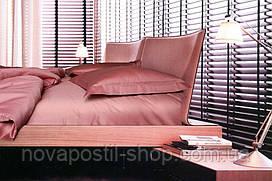 Комплект постельного белья сатин однотонный Rose