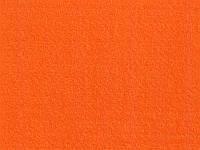 Фетр мягкий 100% полиэстер Hobby & you - Оранжевый, размер 20x30 см