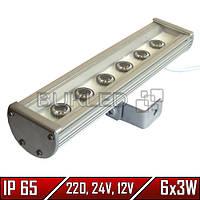 Линейный LED прожектор, 18 Вт, 290 мм, IP 65