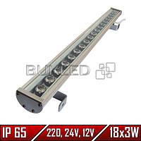 Линейный LED прожектор, 54 Вт, 758 мм, IP 65