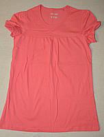 Детская футболка Y.F.K. для девочки (коралловая)