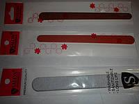 Пилки маникюрные Salon тонкие для своих ногтей