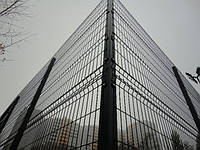 Заборы и ограждения секционные металлические оцинкованные с полимерным покрытием 2.5 м. х 2.0 м. рубеж 3х4