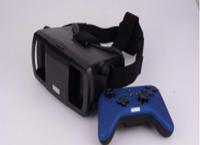 Очки виртуальной реальности для смартфона 3D с джойстиком Lefant VR LMJ3S, виртуальные очки шлем