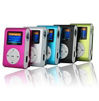 Мини MP3-плеер с ЖК-экраном + FM радио, mp3 проигрыватель, mp3 плеер с экраном, плеер для музыки
