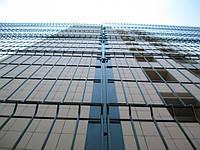 Заборы и ограждения секционные металлические оцинкованные с полимерным покрытием 2.5 м. х 1.8м. рубеж 3х4