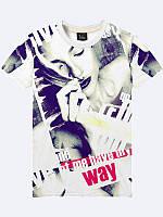 Мужская футболка Фото девушки