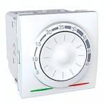 Термостат Schneider Electric Unica теплого пола с датчиком 10А белый