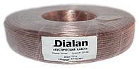 Акустический кабель Dialan CCA 2x1.00 мм ПВХ 100 м