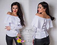 Яркая модная блуза S M L 3 цвета