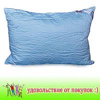 Стеганая подушка с шариком на змейке 50*70