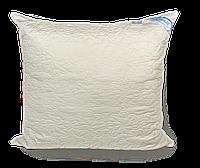 Стеганая подушка с шариком на змейке 70*70
