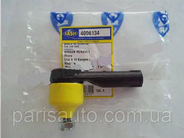 Наконечник поперечной рулевой тяги  Renault Megane Kango лев 99> SASIC 4006134