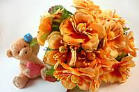 Цветы яблони 4см нежно-кораллового цвета 3шт/уп