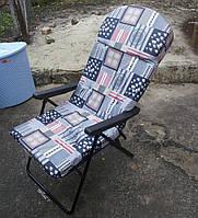Кресло раскладное с матрасом на мебельной пружин