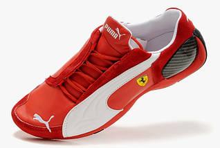 Мужские кроссовки Puma Ferrari Red/White, фото 2