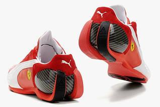 Мужские кроссовки Puma Ferrari Red/White, фото 3