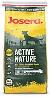 Корм Josera Active Nature, для взрослых собак, с домашней птицей и ягненком, 15 кг jo547