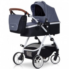 Коляска 2 в 1 Euro-Cart EasyGo Optimo, цвет denim - BabyPro в Киеве