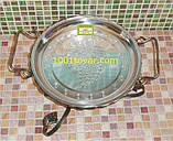 VIP кованная подставка садж для шашлыка или таганок, 28х15,5 см., фото 3