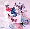 """Салфетка для декупажа """"Бабочки"""", размер 33*33 см, трехслойная"""