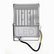 Светодиодный прожектор LED-Tec 50W Slim, фото 2
