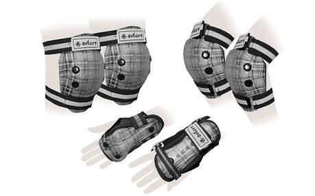 Защита для роллеров детская SK-4678BK, фото 2