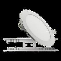 Светодиодный светильник HL640L 12W WT 3000K 220-240V SMD LЕD DOWNLGHT круглый
