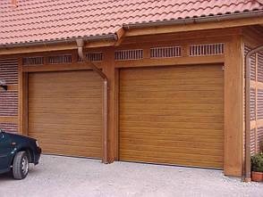 Гаражные секционные ворота 3000*2200 серии PRESTIGE  производства Алютех, фото 2