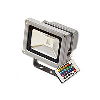 LED Прожектор 10W RGB Feron LL-180 цветной