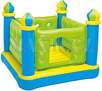 """Детский надувной батут (игровой центр) """"Маленький замок"""" Intex: 132х132х107см (Intex 48257)"""