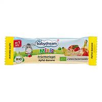 """Babydream Minis  Bio Früchteriegel """"Apfel-Banane"""" - Зерновой батончик """"Яблоко-Банан"""" 25 г, от 1 года"""