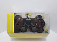 Пульт дистанционного управления проводной 1.8 м анти-шок джойстик геймпад Joypad для PlayStation 2 PS2. Только, фото 1