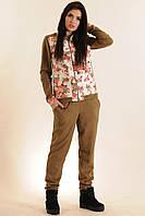 Спортивный костюм цвета хаки