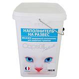 Capsull Delicate baby powder КАПСУЛ ДЕЛИКАТ кварцевый впитывающий наполнитель для туалетов кошек, фото 2