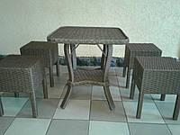 Плетенный набор из ротанга Амалия 60