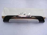 Накладка на бампер (пластик) KIA Sportage 2010-2012, фото 1