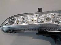 Накладка на противотуманки с LED огнями KIA Sportage 2010-2012, фото 1