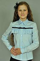 Школьная нарядная блузка для девочки
