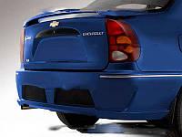 Задний бампер AVR-Cup из стеклопластика для Chevrolet Lanos (ZAZ Chance)